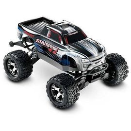 Traxxas Stampede 4X4 VXL 4WD RTR Monster Truck Silver