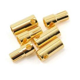 Castle Creations CSECCBUL553  5.5MM Bullet Connectors