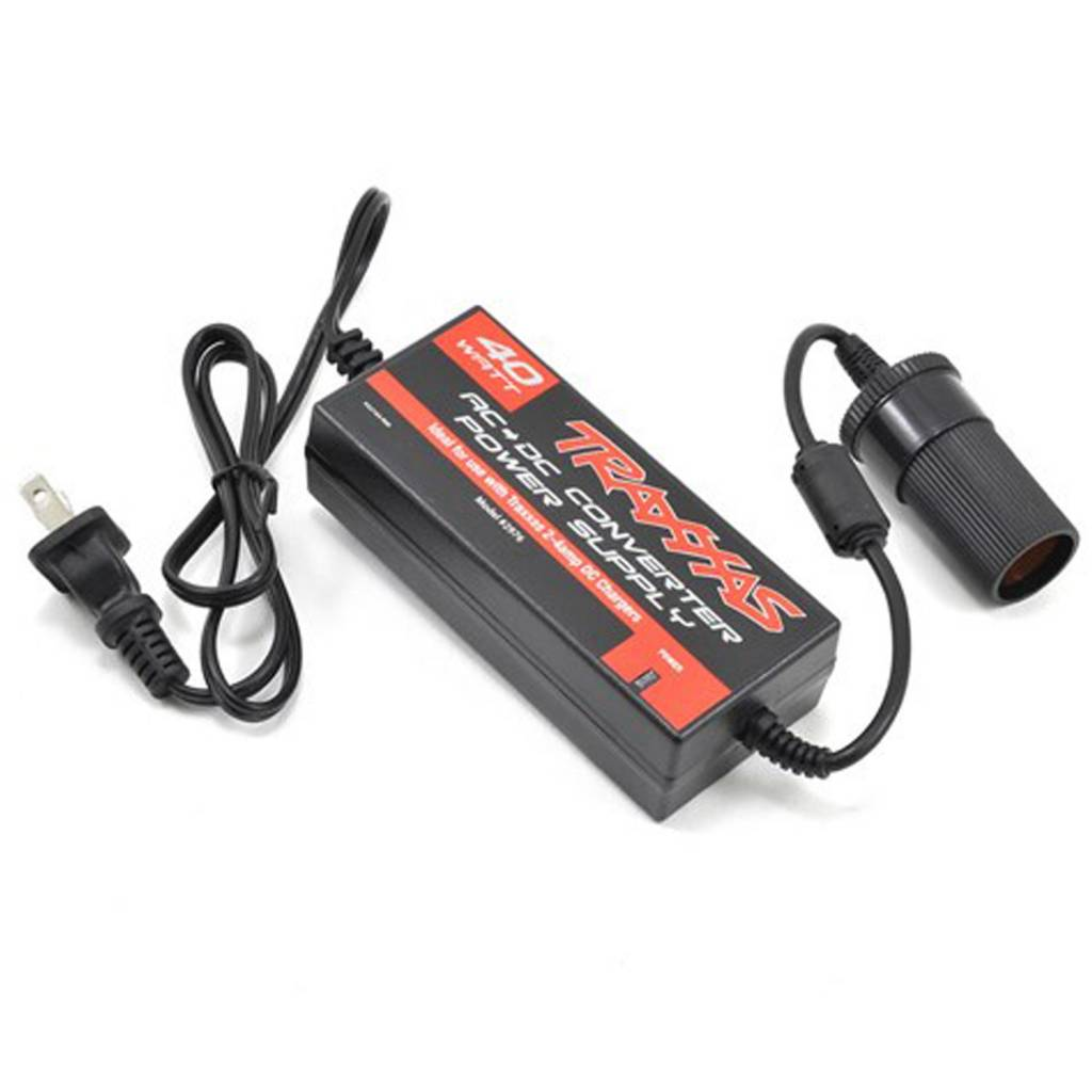 Tra2976 Ac To Dc Power Supply Adapter Michaels Rc Hobbies Converter Traxxas