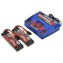 Traxxas TRA2990 5000mAh 3S Lipo & Dual Multi-Chemistry Battery Charger Combo