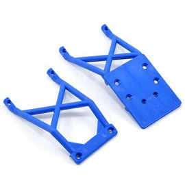 Traxxas Blue Front & Rear Skid Plate Son-uva Digger