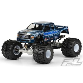 Proline Racing 2008 Ford F250 Clear Body for Solid Axle Monster Trucks