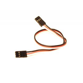 """Racers Edge 9"""" (229mm) universal extension lead 22AWG -Male"""