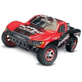 Traxxas Red Slash 1/10 VXL 2WD Brushless S.C Race Truck, w/ TSM and OBA