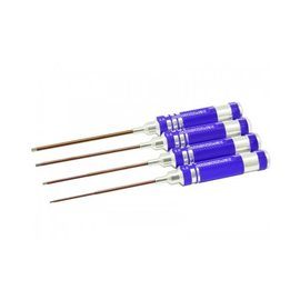 Arrowmax AM-110991 Allen Wrench Set 1.5 2.0 2.5 & 3.0x120mm - 4 Pcs