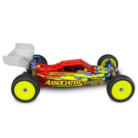 J Concepts F2-B6/B6D 1/10 Buggy Body (Clear) w/ Aero Wing