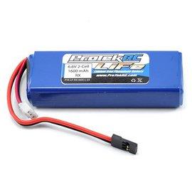 Protek RC LiFe Receiver Battery Pack for Mugen & AE (6.6V/1600mAh) (w/Balancer Plug)