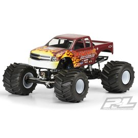 Proline Racing 2007 Chevy Silverado Clear Body for Solid Axle Monster Trucks