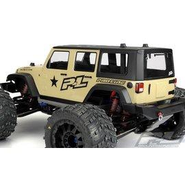 Proline Racing Jeep Wrangler Unlimited Rubicon Clear Body for T/E-Maxx 3.3, Revo 3.3, Savage and Summit
