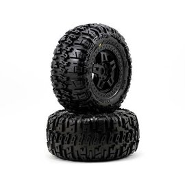 Proline Racing Trencher 3.8 (40 Series) All Terrain Tires Mounted Tech 5