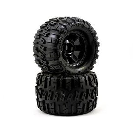 "Proline Racing Trencher 3.8"" All Terrain Tire on Desperado Black Wheels"