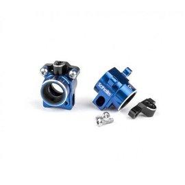 Schelle Racing SCH1235 Aluminum Hub Set Blue B6 | B6D