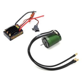Castle Creations CSE010-0115-08 SV3 Sidewinder ESC & 1406-7700kv Sensored