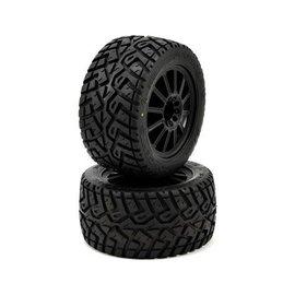 "J Concepts JCO3056-3040  2.8"" G-Locs Tires on Black Wheels"