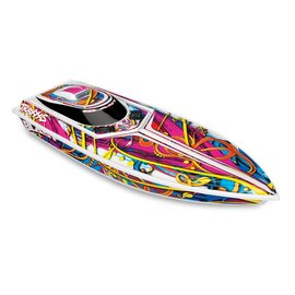 Traxxas Blast High Performance Electric Race Boat RTR W/ 2.4GHz Radio, Battery with iD, and Charger
