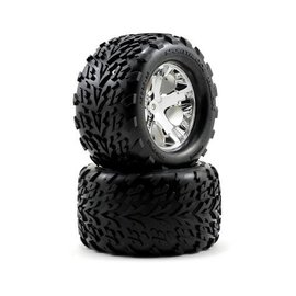 Traxxas Copy of 2.8 Talon Tires on All-Star Black Chrome Wheels
