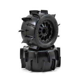 Proline Racing PRO1186-14 Sand Paw 2.8 All Terrain Mounted Tires (2)