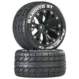 Duratrax Bandito ST 2.8 C2 Truck 2WD Mounted Rear Black (2)