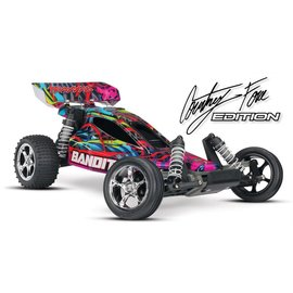 Traxxas Courtney Force Edition Bandit 1/10 Extreme Sports Buggy RTR