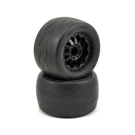 "Proline Racing PRO10116-14 Prime 2.8"" Tire Mounted on F-11 Black Wheels (2)"