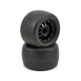 "Proline Racing PRO10116-14 Prime 2.8"" Tire Mounted on F-11 Black Wheels (2)"