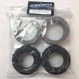 J Concepts Pin Down Carpet SCT 3.0 x 2.2 Tires (2) (Pink)