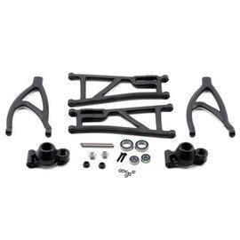 RPM R/C Products Revo True-Track Rear A-Arm Conversion Kit (Black)