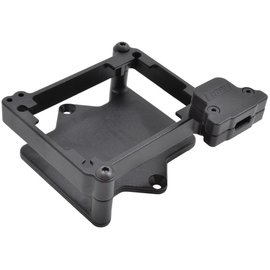 RPM R/C Products Black ESC Cage for Castle Mamba X ESC