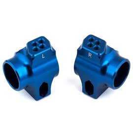 Team Associated Factory Team Blue Aluminum Rear Hubs  B6  |  B6D