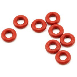 Team Associated O Rings, Red Silicone