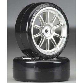 Tamiya TAM54022  1/10 SD Drift Tech Tires/10-Spoke Wheels 24mm