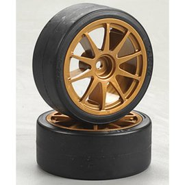 Tamiya Drift Tires Type D & Wheels 26MM