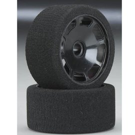 BSR 1/10 Front Pan Car Foam Tire Pink (2)