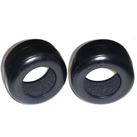 CRC CLN2312 RT1 Rubber Rear Tires w/insert (2)