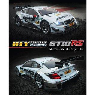 Carisma CIS76168 M40S 1/10 4WD Mercedes AMG C-Class #6 White DTM RTR Touring Sedan
