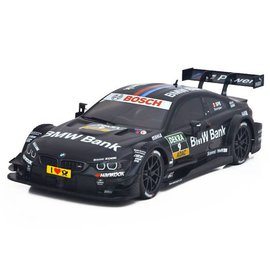 Carisma M40S 1/10 4WD BMW M4 #9 Black DTM RTR Touring Sedan