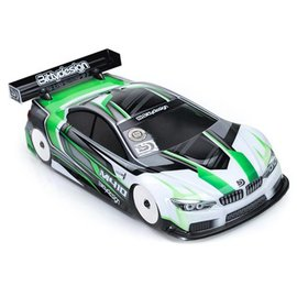 Bittydesign M410 1/10 Touring Car Light Weight Body (Clear) (190mm)