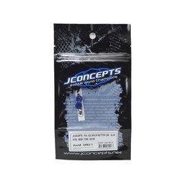 J Concepts JCO2492-1  Fin, VCS shock bottom cap, Blue, (2)