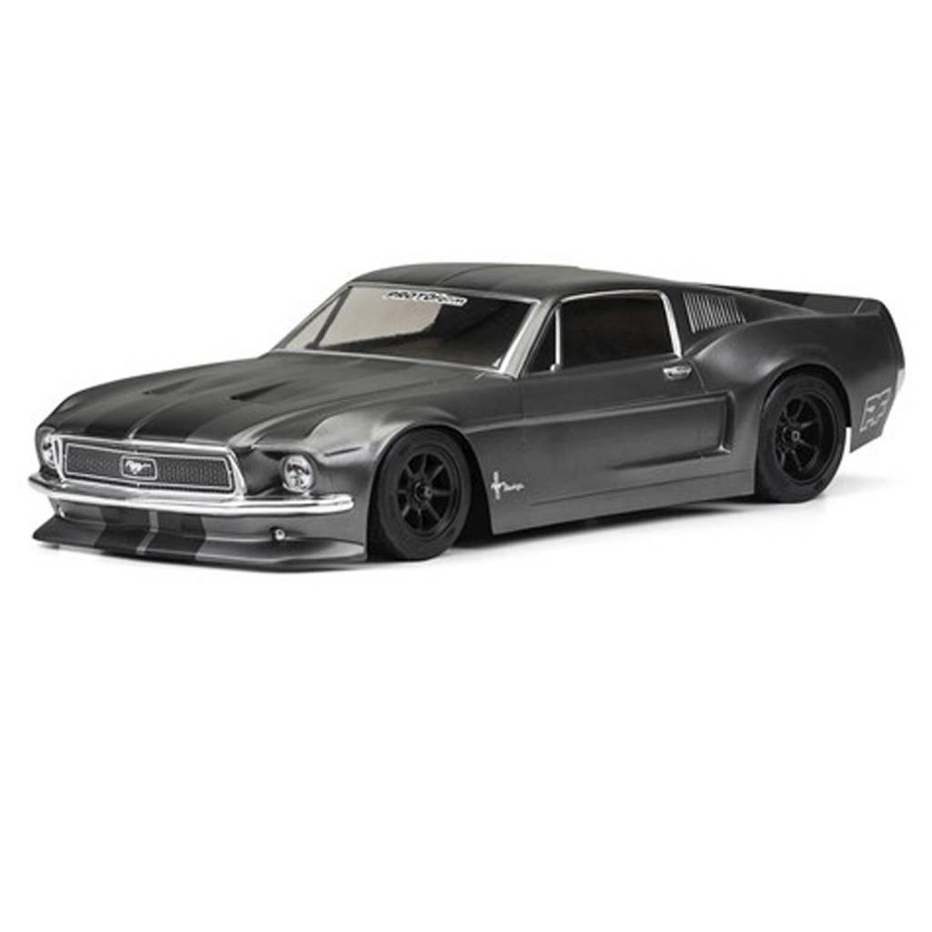 PRM1558-40 1968 Ford Mustang Clear Body for VTA (Vintage Trans Am ...
