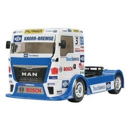 Tamiya Team Hahn Racing MAN TGS Semi Truck Kit
