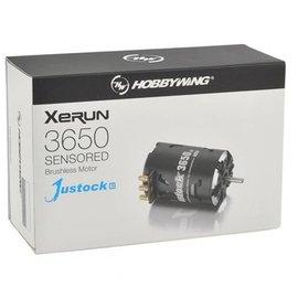 Hobbywing XERUN Justock (10.5T) 3650SD G2 Sensored Brushless Motor