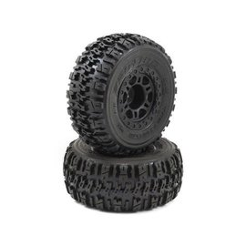"Proline Racing Trencher X SC 2.2"" / 3.0"" M2 (Medium) Tires Mounted on Split Six Wheels"