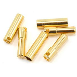 Castle Creations 4mm High Current Bullet Connector Set 16G/13G 75A (3)