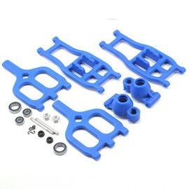 RPM R/C Products True-Track Rear A-Arm Conversion Blue (T/E Maxx 3.3)