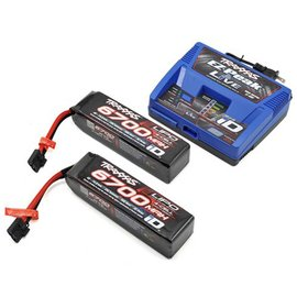 Traxxas Battery/charger W/-2  14.8V 4-cell LiPo battery