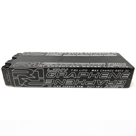 R1wurks R160002S120C  R1 6000mAh 120C 7.6v 2S LiHV Graphene Lipo Battery