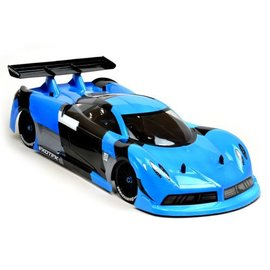 Exotek Racing EXO1762 P-ZERO GT 190mm 1/10 Clear Body and Wing Set