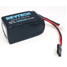 "Trinity 2S 7.4V 2800MAH ""GRAPHENE"" Lipo Hump Style Receiver Pack"