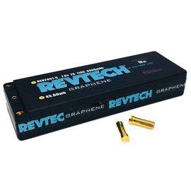 "Trinity REV2031-5  2S 7.6V 6000MAH 110C LCG ""GRAPHENE"" Lipo HI-Voltage Pack With 5MM Bullets"