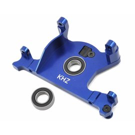 King Headz Slash 4x4 LCG Blue Aluminum Motor Mount w/Bearing